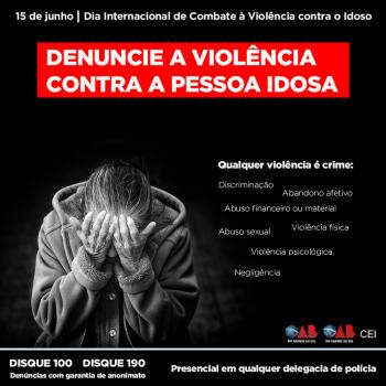 SINDIHOSPA apoia frente de combate à violência contra os idosos da OAB-RS