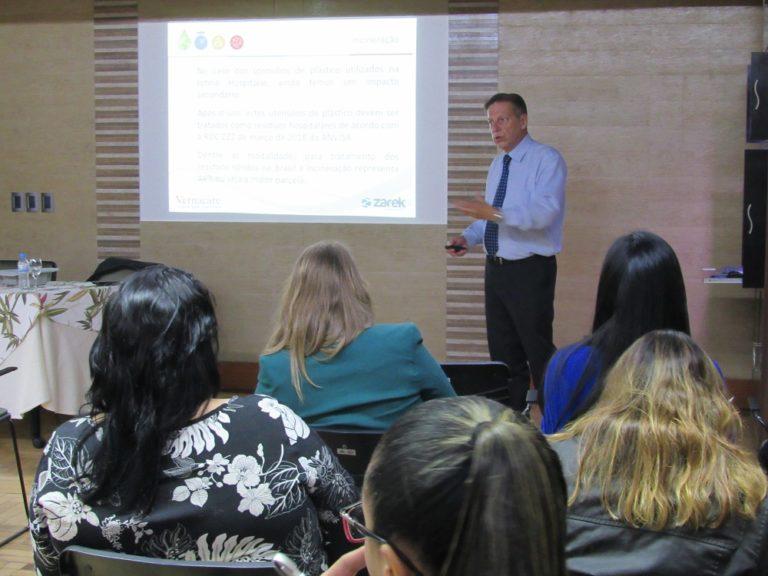 Sistema Vernacare é apresentado para instituições de saúde no SINDIHOSPA